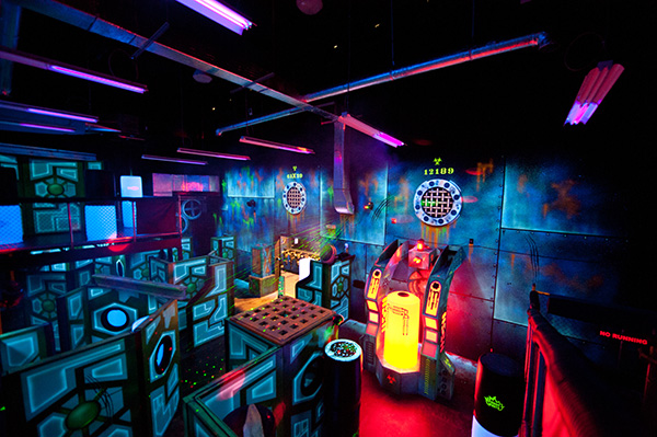Laser Tag Arena Crown Sports
