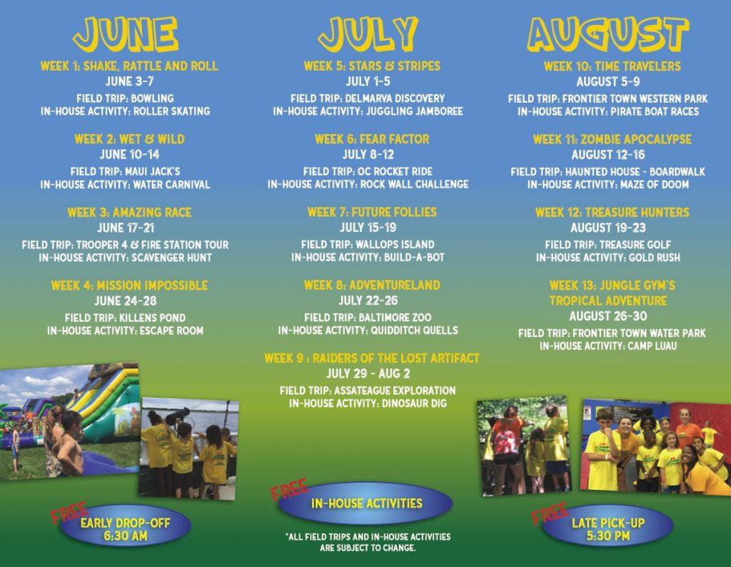 Camp Crown Brochure 2019